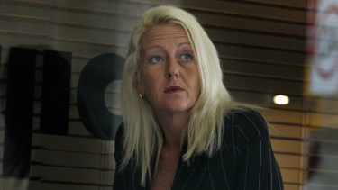Barrister Nicola Gobbo - the secret police informer 3838. This photo was taken in April 2008, the morning after her car was torched.