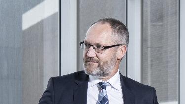 Oil Search managing director Keiran Wulff