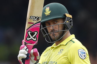 Faf du Plessis returns for South Africa in the series against Australia.