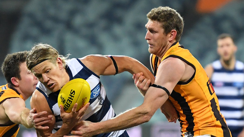 Hawks to stay the course with McEvoy