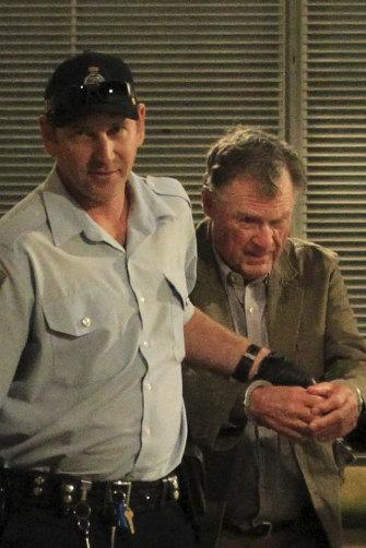 Glen Turner's killer, Ian Turnbull, at his trial in April 2016.