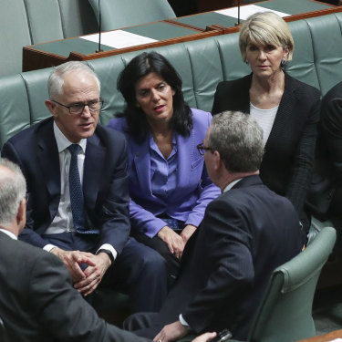Banks' days were numbered after a coup in 2018 led to her preferred leader, Malcolm Turnbull, getting the chop.