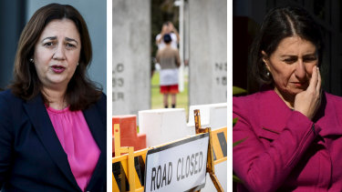 The border debate has been an ongoing issue between Queensland Premier Annastacia Palaszczuk and NSW Premier Gladys Berejiklian.