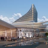 An artist's impression of the proposed redevelopment of Canberra Casino, now scotched by the ACT government.
