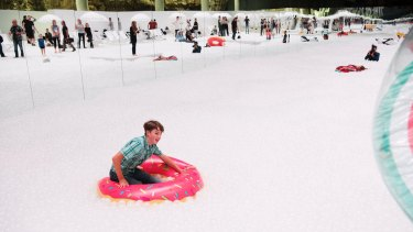 The Cutaway was turned into a beach installation of 1.1 million recyclable polyethylene balls against a 60-metre wide shoreline for Sydney Festival in 2017.