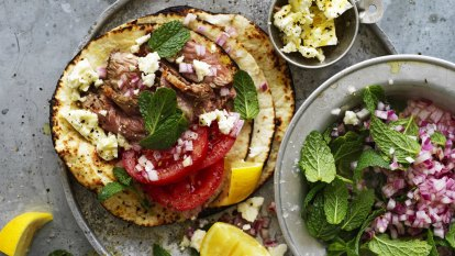 Can't decide between souvlaki and tacos? Have both!