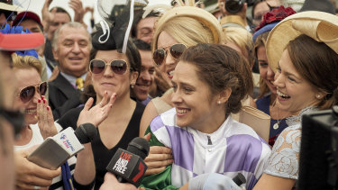 Cupid's Millinery supplied many of the hats in the crowd scenes in the Michelle Payne biopic, 'Ride Like a Girl'.