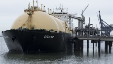 LNG exports to China could expand.