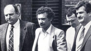 Barrie John Watts, who with his partner Valmae Fay Beck murdered Queensland schoolgirl Sian Kingi in 1987.