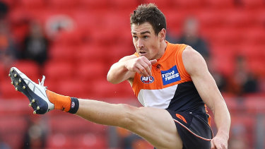 Former Giants star Jeremy Cameron, now with Geelong.