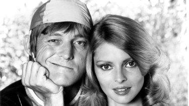John Cornell and wife Delvene Delaney in 1981.