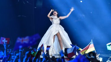 Dami Im came second at Eurovision in 2016.