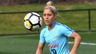 Midfielder Katrina Gorry will be important for Brisbane Roar.