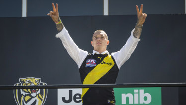 Two premierships, two Norm Smith Medals: Dustin Martin.
