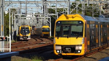About 300 laptops issued to Sydney Trains staff working on one project disappeared late last year.