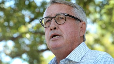 """Wayne Swan has blasted the Business Council of Australia's new campaign as a """"powerful threat"""" to democracy."""