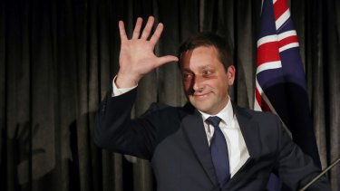 Former Victorian Liberal leader Matthew Guy  conceding defeat in the state election.