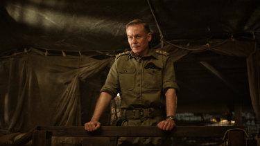 Richard Roxburgh plays Brigadier David Jackson.