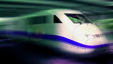 Artist's impression of a Very Fast Train design.