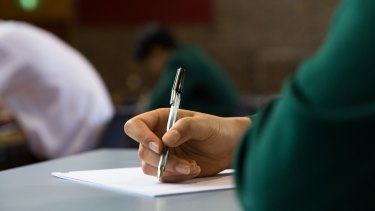 NAPLAN results have improved across most year groups for writing.