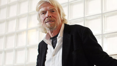 Richard Branson will speak at the event at Sydney Town Hall.