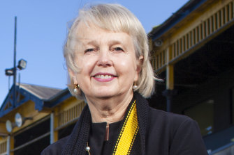 Richmond president Peggy O'Neal.