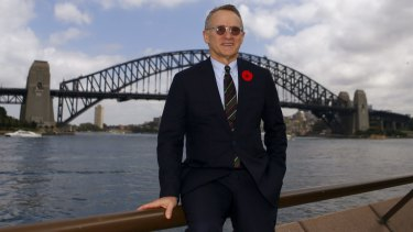 Oaktree's Howard Marks during a visit to Australia in 2016.