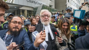 George Pell's lawyer Robert Richter will still be involved.