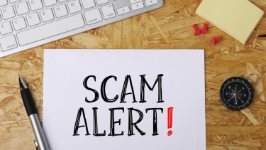 You could scammed any time you're on the internet or checking your text messages.