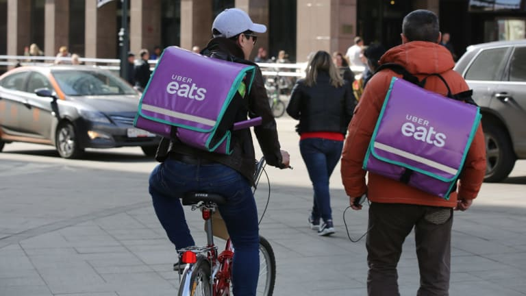 Food delivery services like Uber Eats can take a cut from small business's orders of up to one third.