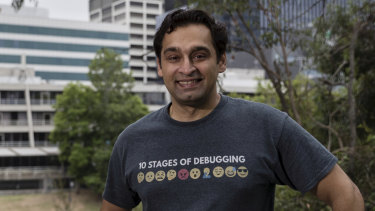 """Ali Muzaffar wants to dispel the stereotype that app developers are """"nerdy introverts""""."""