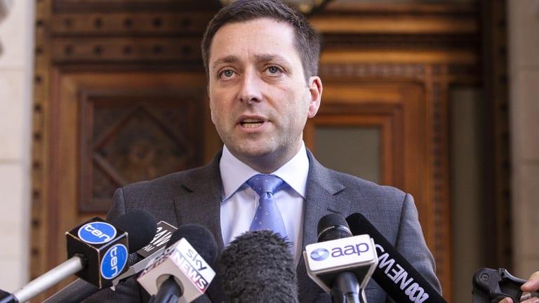Opposition Leader Matthew Guy approved development, then backflipped under pressure.