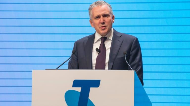 Telstra CEO Andry Penn.