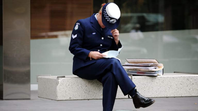 Female police officers (not pictured) have criticised the force's Employees Assistance Program in a court hearing.