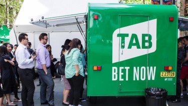 Gaming analysts are predicting Tabcorp will continue to face 'headwinds' from online bookie rivals.