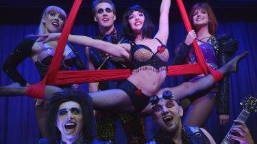 Blood Bath: Dracula's theatre restaurant sells.