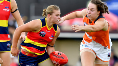Up for grabs: The Federal budget awarded grants totalling $65m to clubs associated with the AFLW competition.