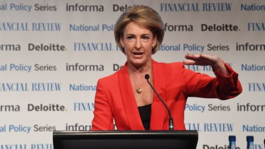 Federal Minister Michaelia Cash