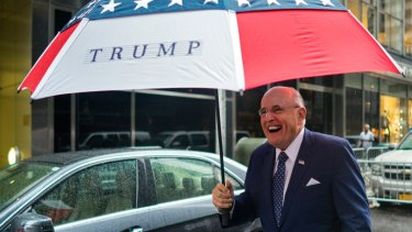 Giuliani is a longtime ally of President Donald Trump.