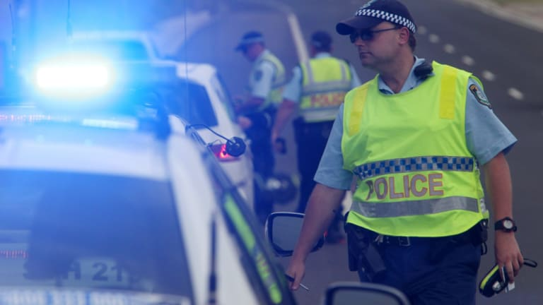 Motorists in NSW now have to slow to 40km/h when passing emergency vehicles flashing their blue and red lights.