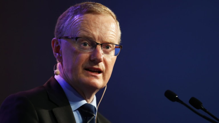 Philip Lowe, governor of the Reserve Bank.