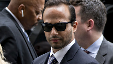 George Papadopoulos was jailed for lying to the FBI during its investigation into Russia's interference in the 2016 election.