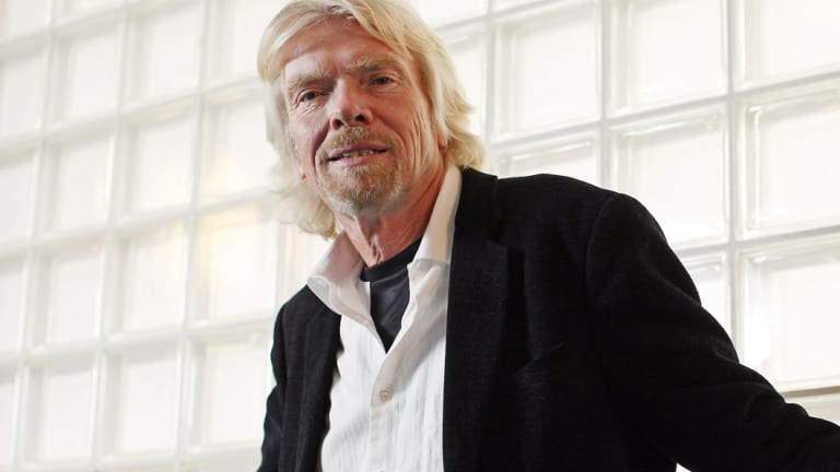 Richard Branson will speak at the event at Sydney Town Hall.