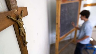 The National Catholic Education Commission does not believe its schools are better off than others.