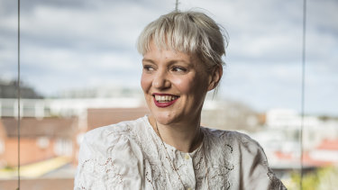 The journey here: Radio presenter Jacinta Parsons documents her struggle with chronic illness in the memoir Unseen.