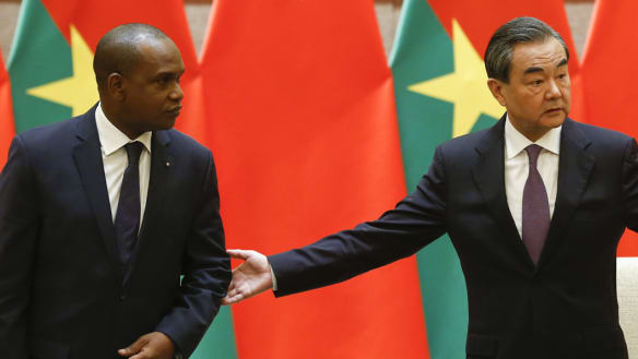 China cements fresh Burkina Faso ties with hospital and highway