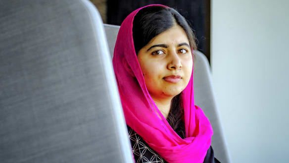 Malala's new book brings voices of world's displaced to the fore