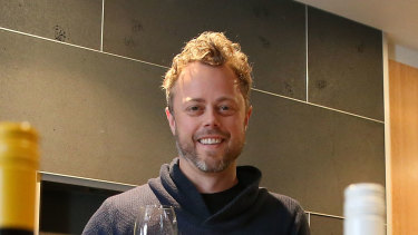 Vinomofo founder Justin Dry has seen online wine sales soar.