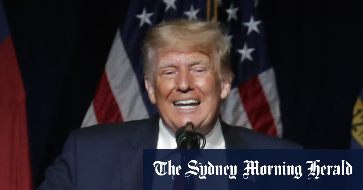 Trump emerges from seclusion to denounce Fauci China and dangle 2024 rerun – Sydney Morning Herald
