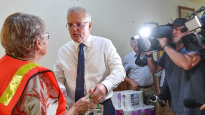 Morrison promises action on climate and help for fire-affected businesses